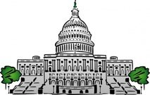 Washington dc clipart. Free and vector graphics