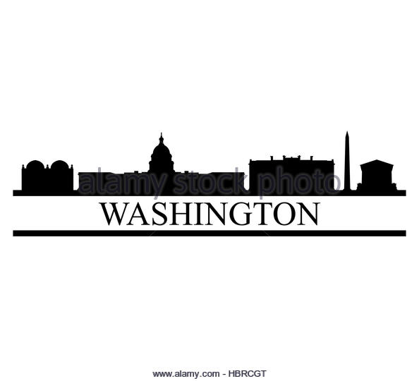 Washington dc clipart psychology. Silhouette at getdrawings com