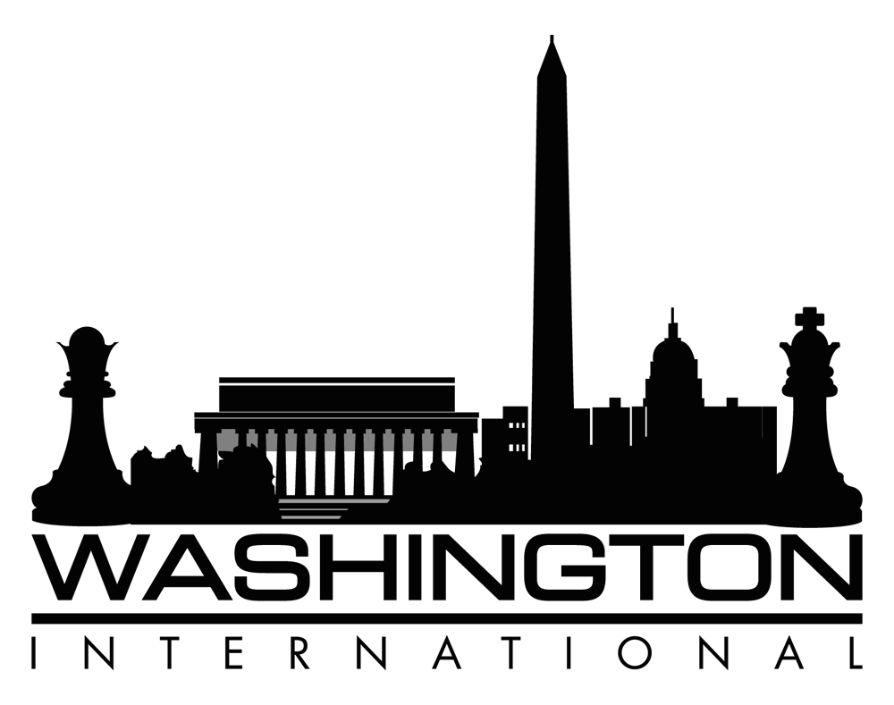 Washington vector skyline dc. International begins us