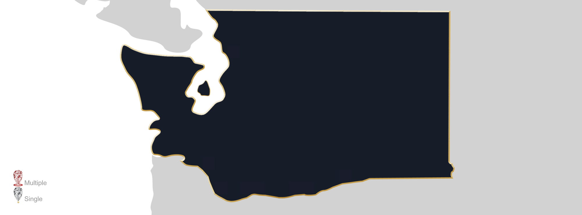 Washington state outline png. Jewelry appraisers gemologists gem