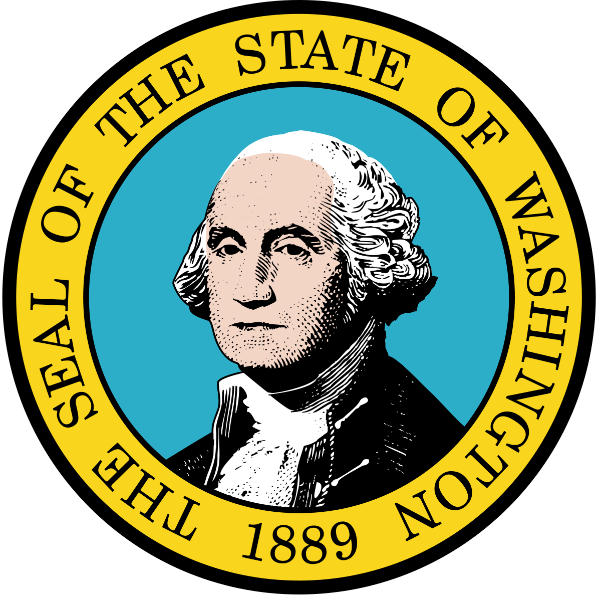 Washington vector state wa. Seal of wikipedia