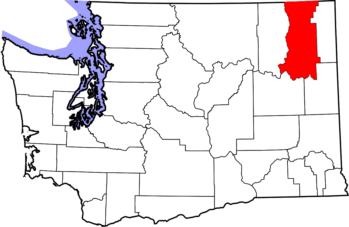 Washington vector state wa. Stevens county wikipedia