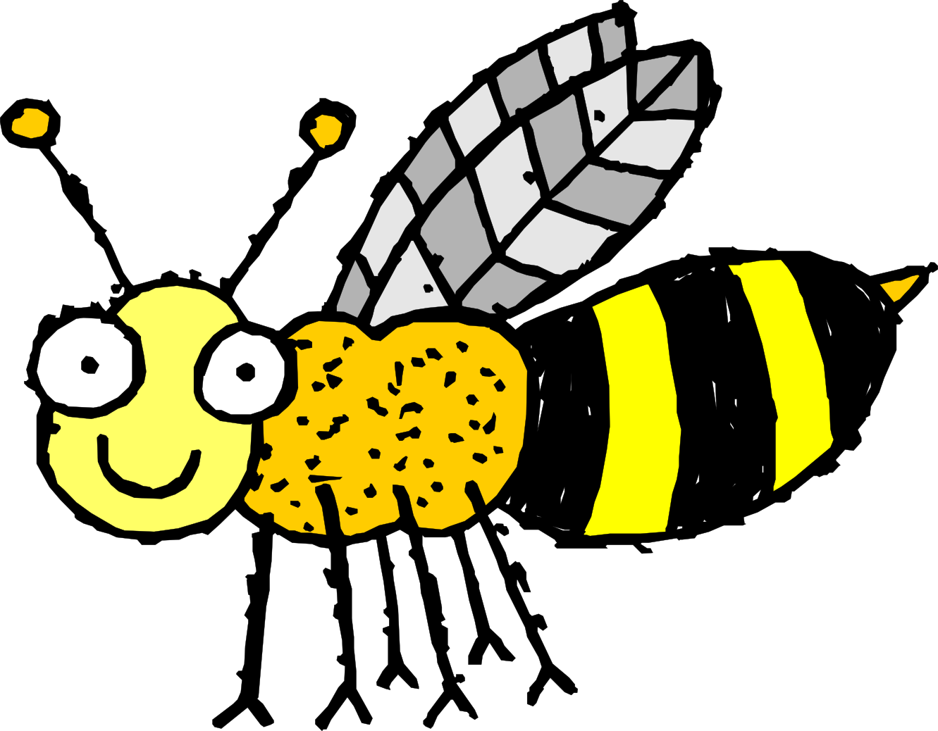Collection of free hiving. Wasp vector graphic transparent