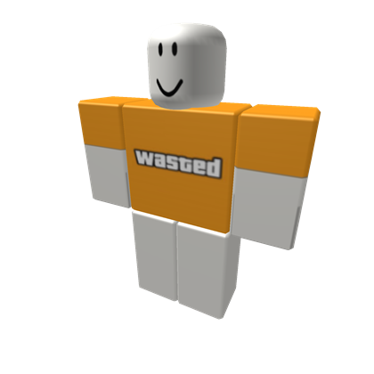 Wasted gta png. Roblox d