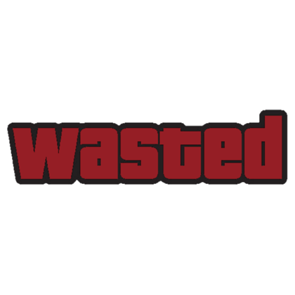 Wasted png. Roblox