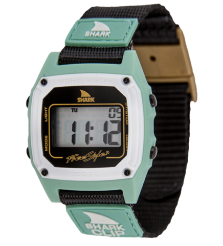 Watch clip. Freestyle shark black mint