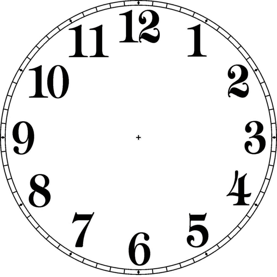 Watch clip face. Clock by stephenjohnsmith on