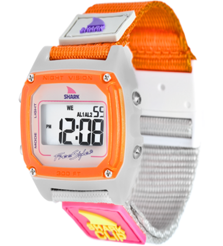 Watch clip freestyle. Shark taupe neon