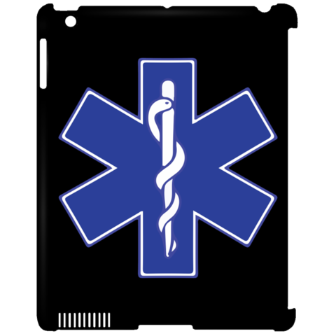 Watch clip paramedic. Star of life blue