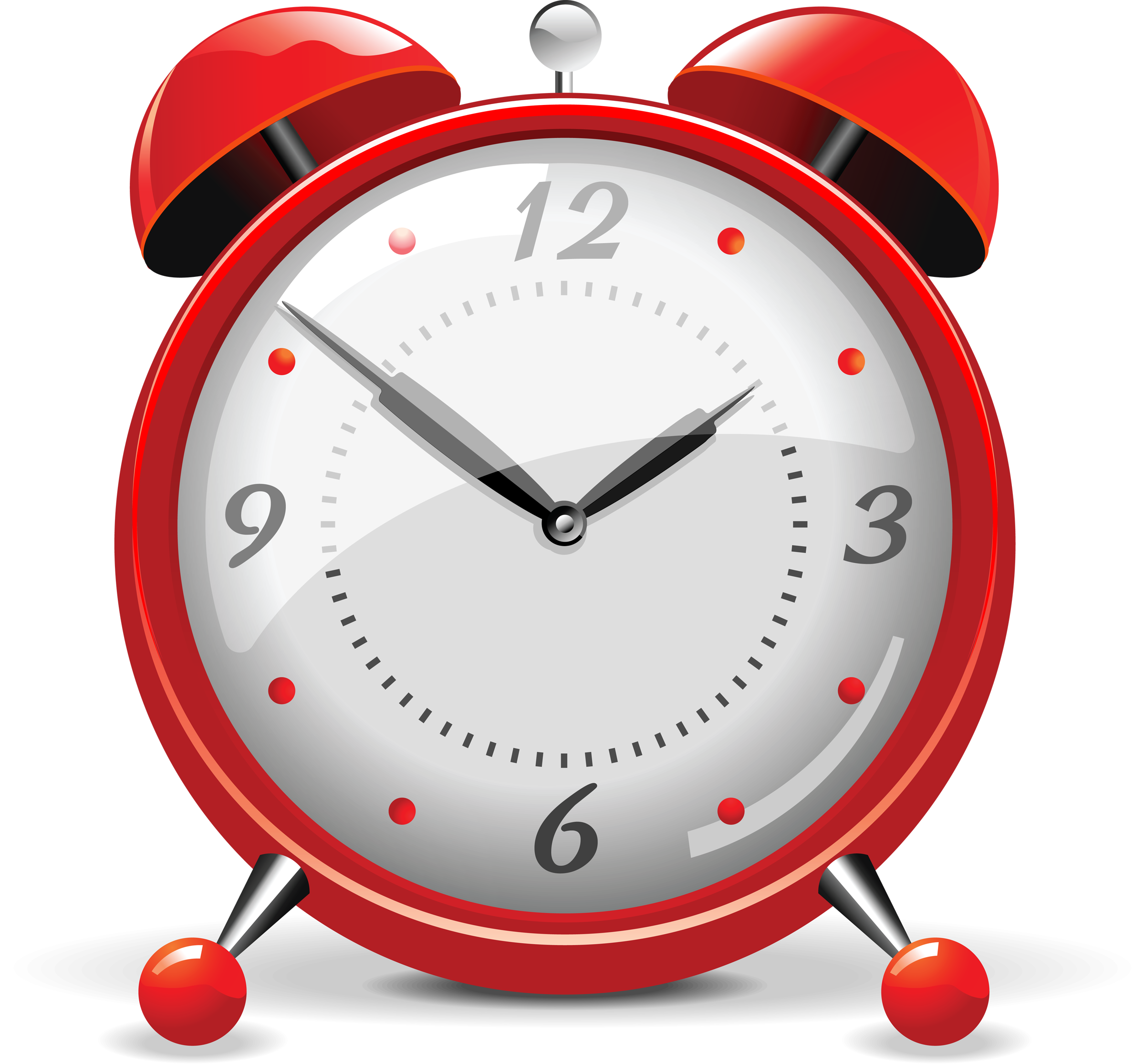 Watch clipart png. Red clock alarm