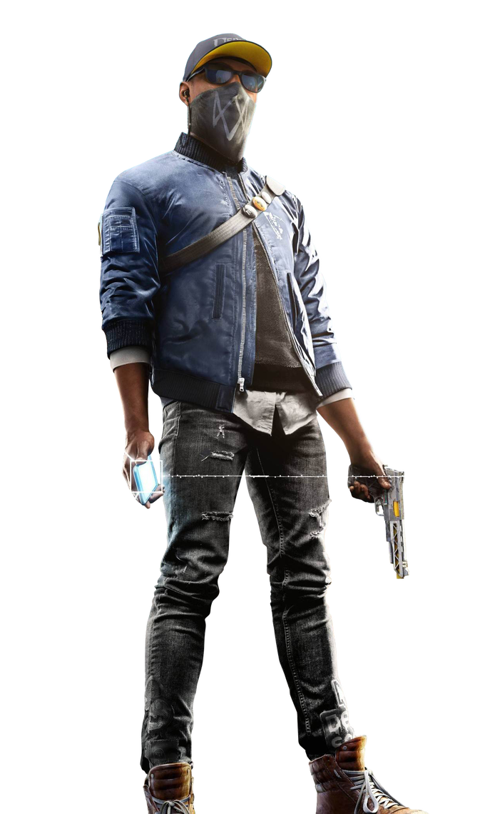 Watch dogs 2 marcus png. Holloway render by digital