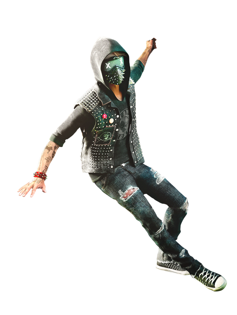 Watch dogs 2 png. Image wrench render by