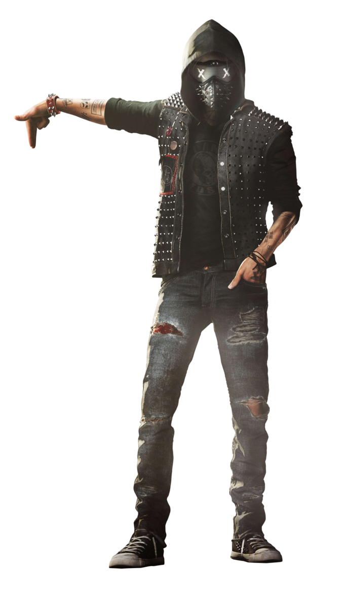 Watch dogs 2 png. Wrench render wallpaper by