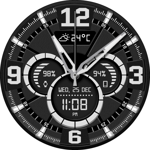 Watch face png. Iron gudang game android