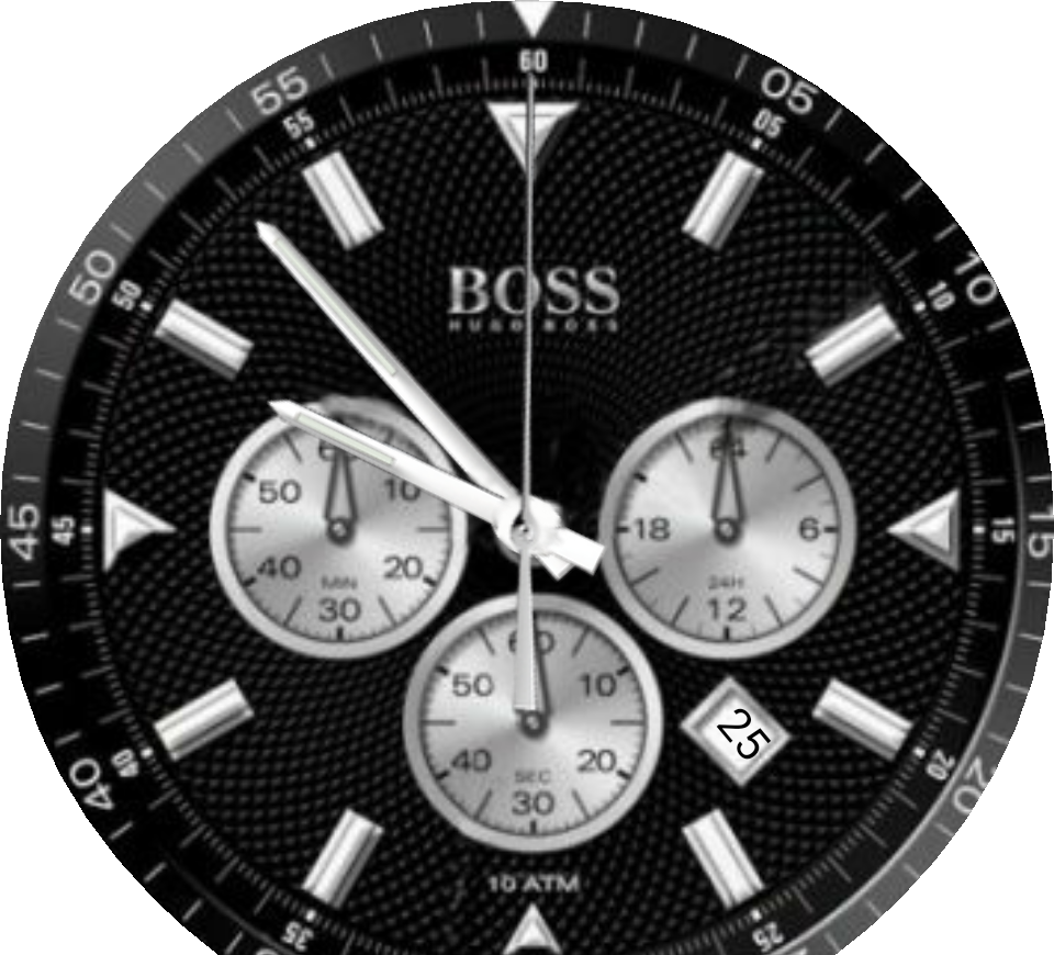 Watch face png. Hugo boss for moto