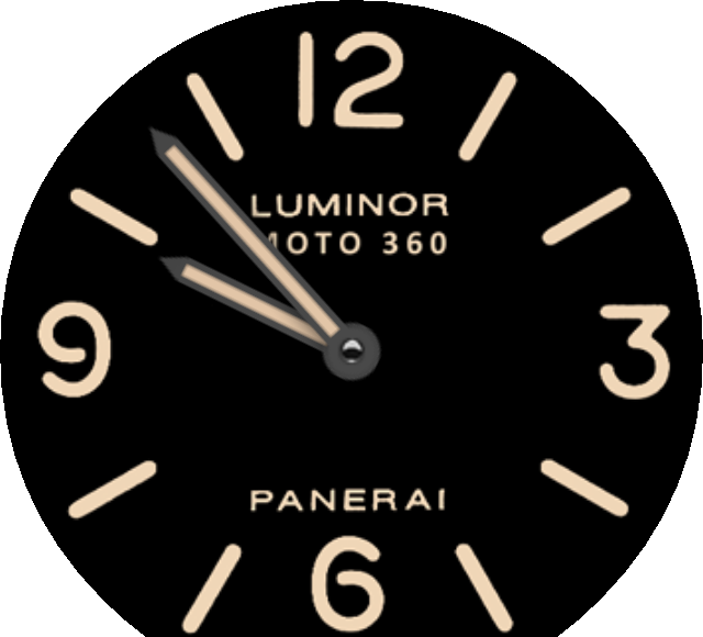 Watch face png. Watchface requested pan luminor