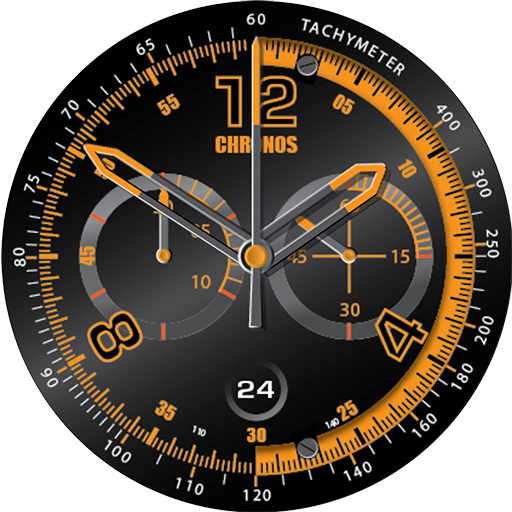 Watch face png. Chronos by rjh design