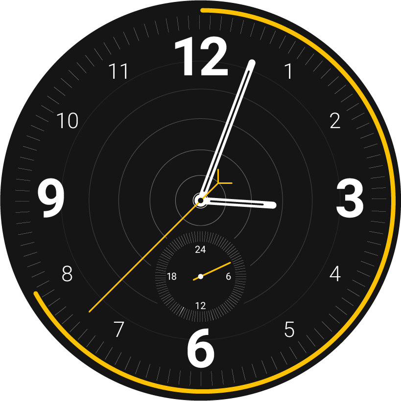 Watch face png. Dribbble watchface by jesse