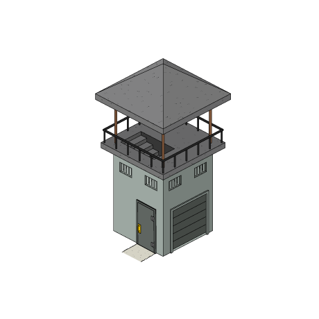 watch tower png