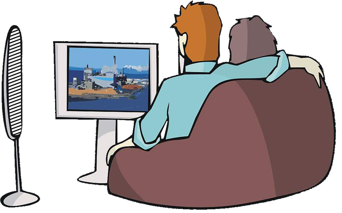 Watch tv png. Television drawing cartoon illustration