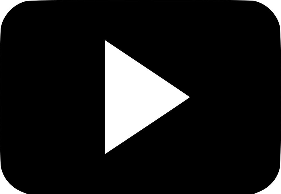 Watch video icon png. Play youtube playlist svg
