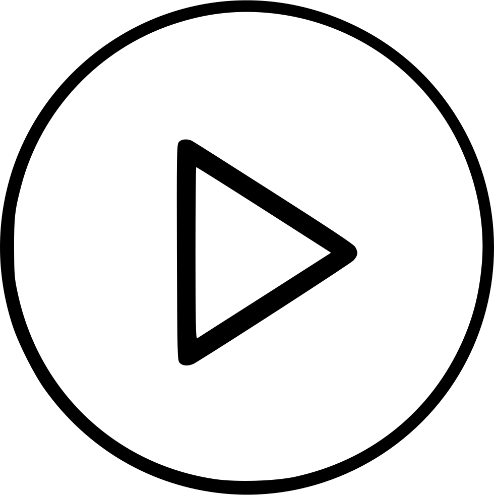 Watch video icon png. Audio movie play svg