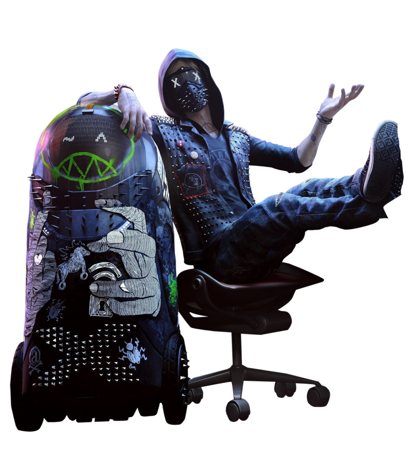 Watch_dogs png art. Watch dogs wrench render