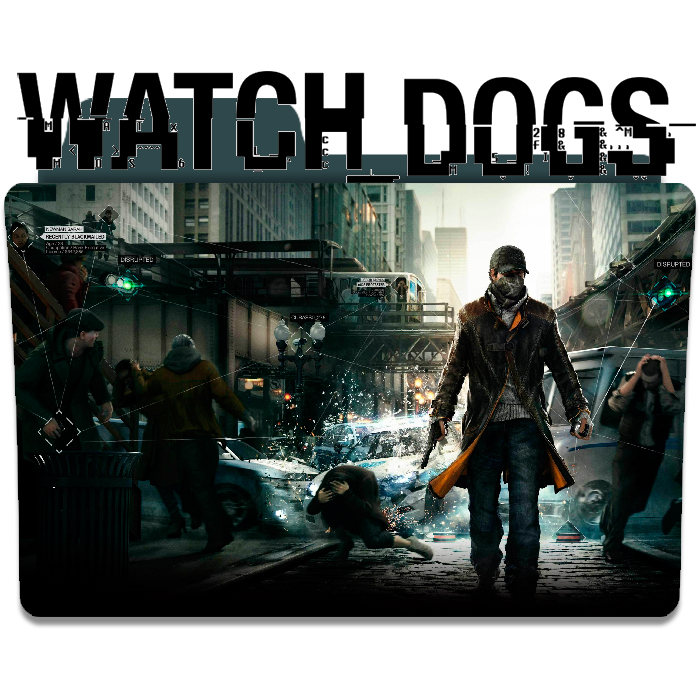 Watch dogs game folder. Watch_dogs png art banner library download