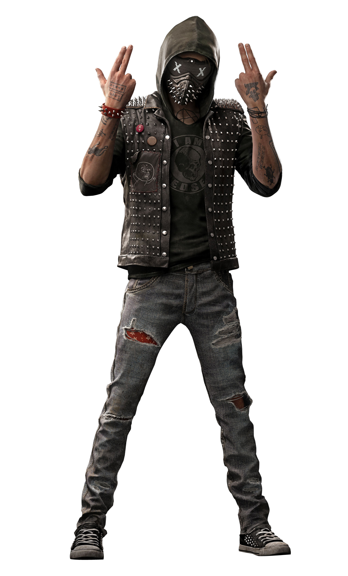 Watch_dogs png gangster character. Watch dogs hd transparent