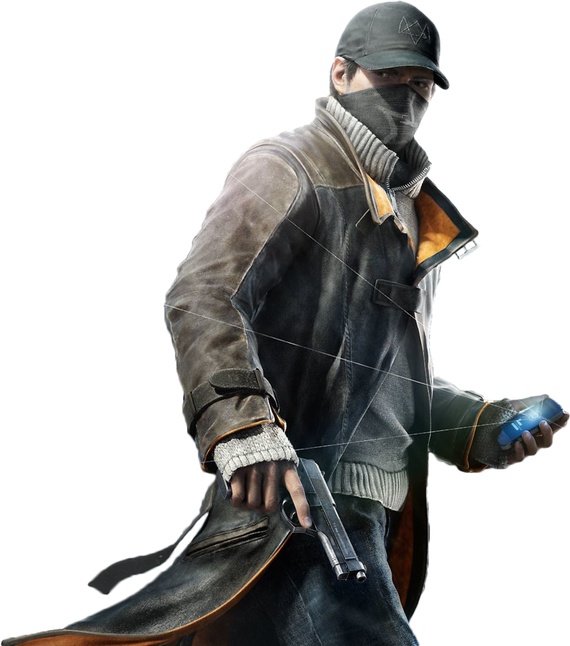 Watch_dogs png main character. Watch dogs render by
