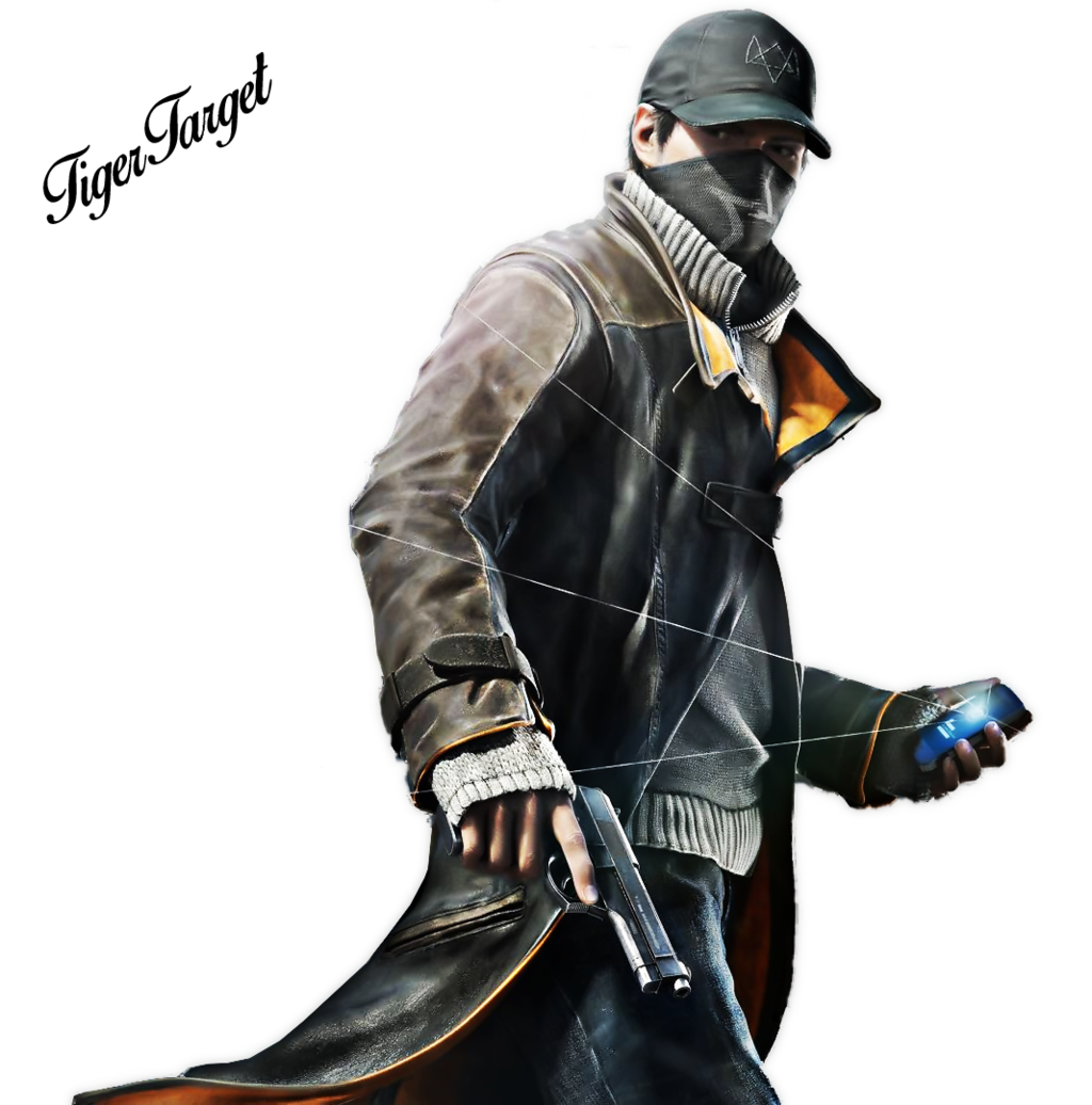 Watch_dogs png masked character. Watch dogs hd transparent