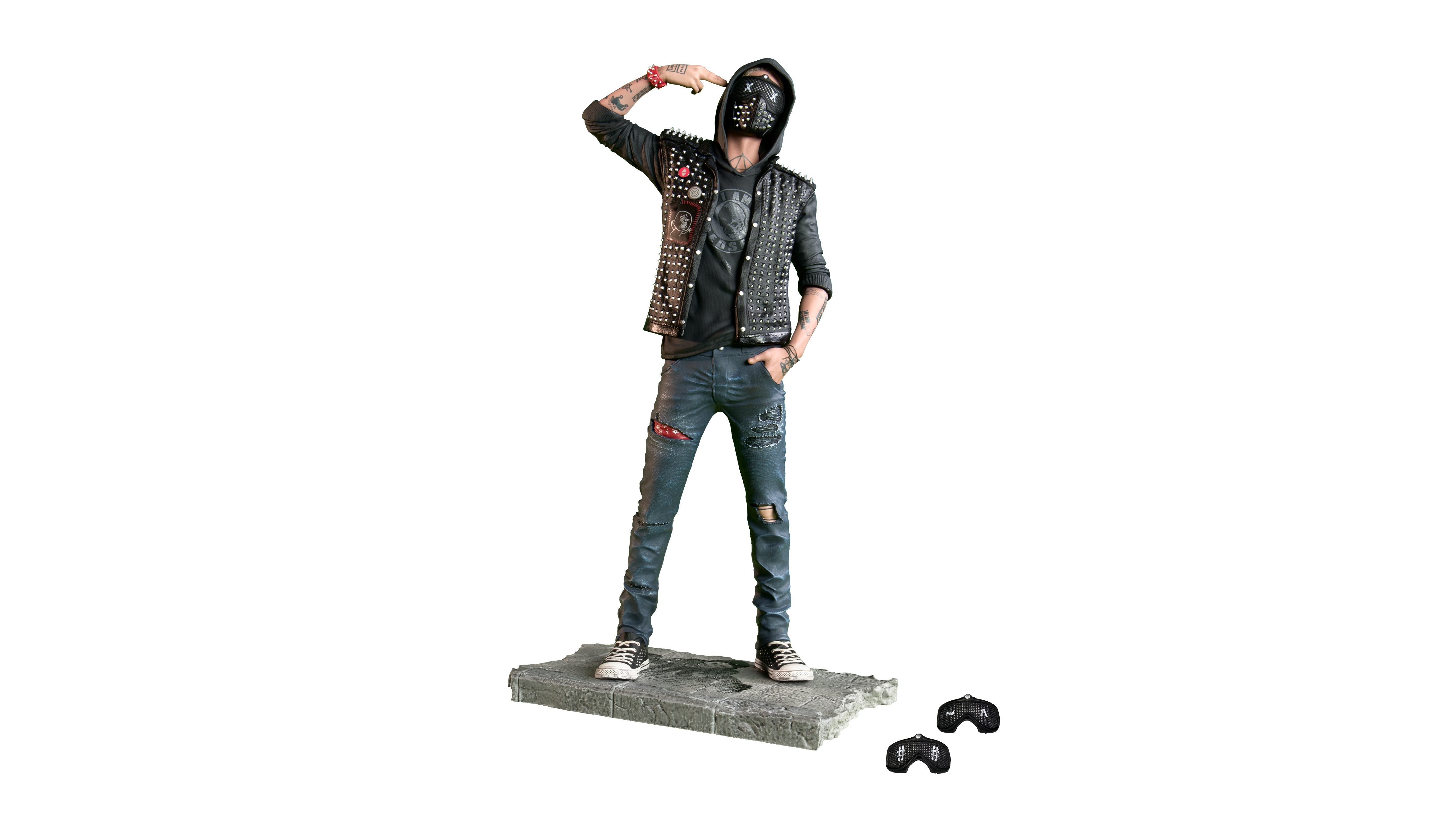Watch_dogs png wrench. Watch dogs figurine the