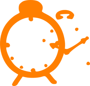 Watching clipart w be for. Orange stop watch clip