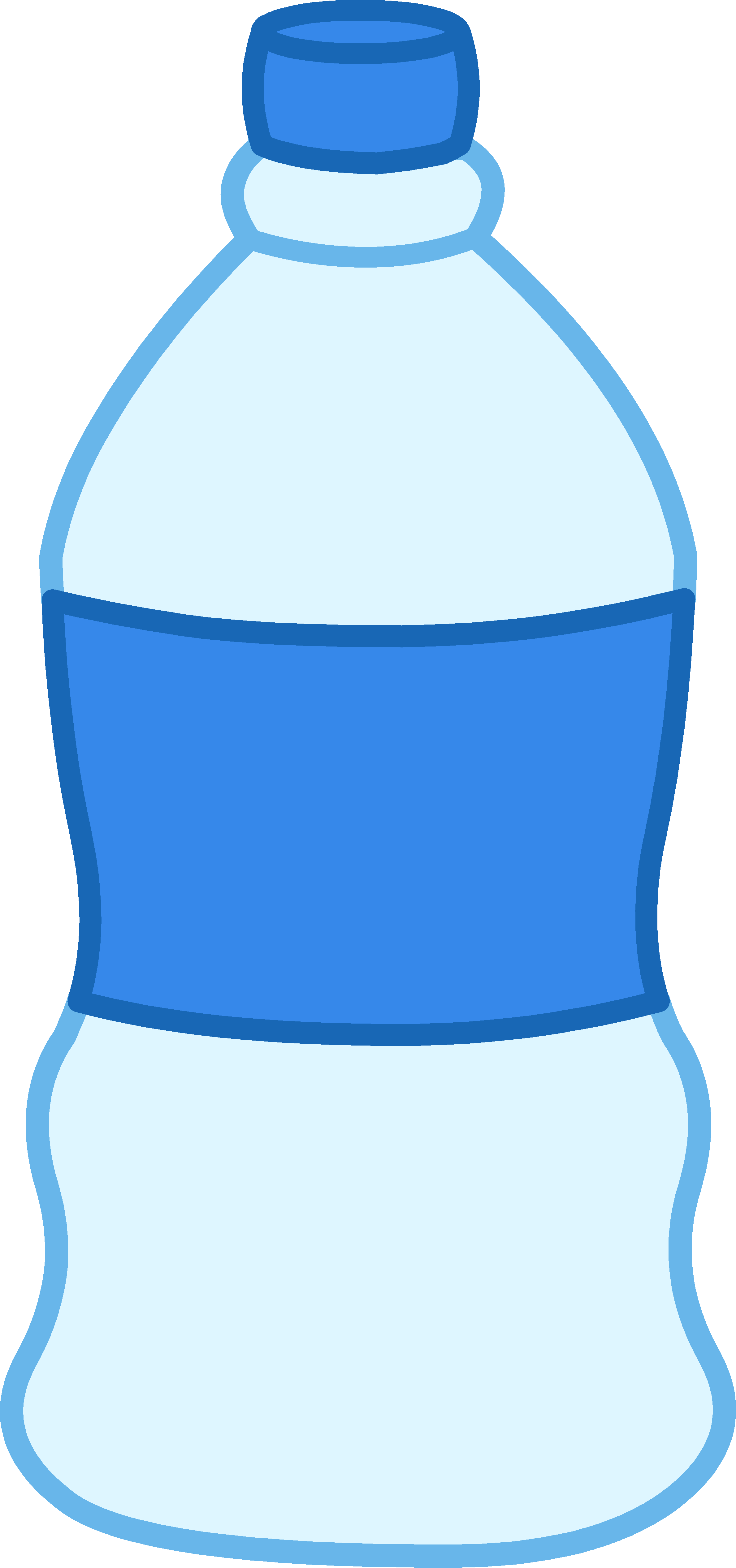 Water bottle cartoon png. Clipart