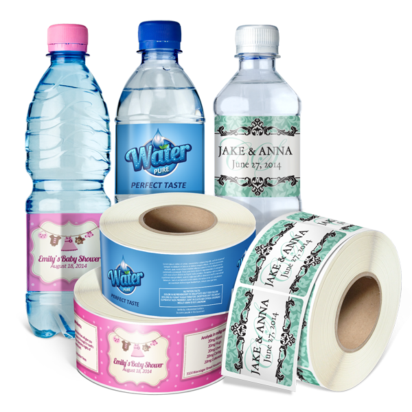 water bottle label png