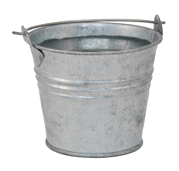 Water bucket png. Pail stock photography metal