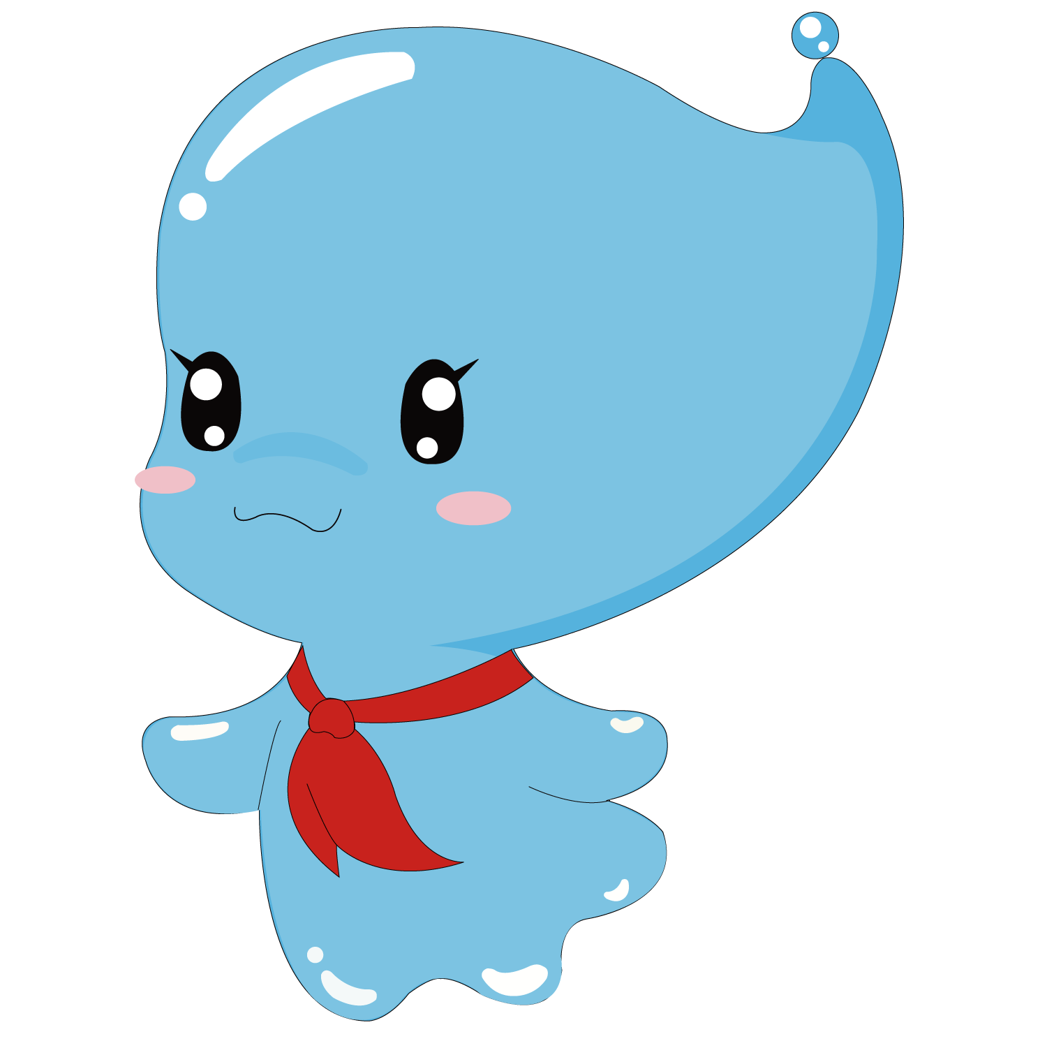 Water cartoon png. Cute baby transprent free