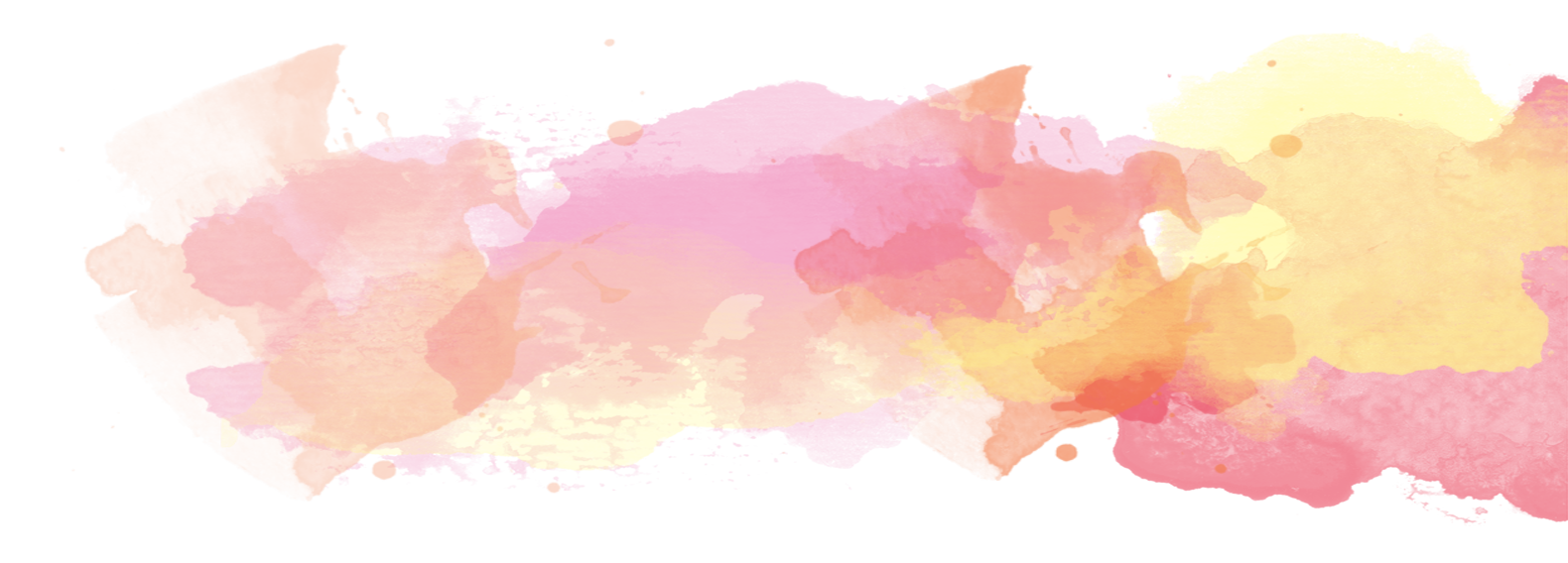 Water color background png. Watercolor painting orange magenta