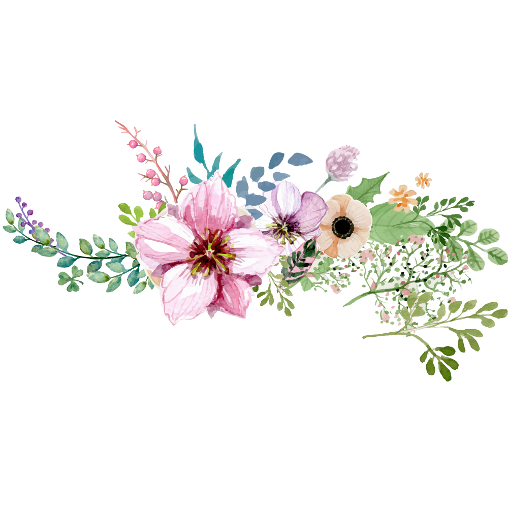 Water color camera png. Watercolor flower borderround peoplepng