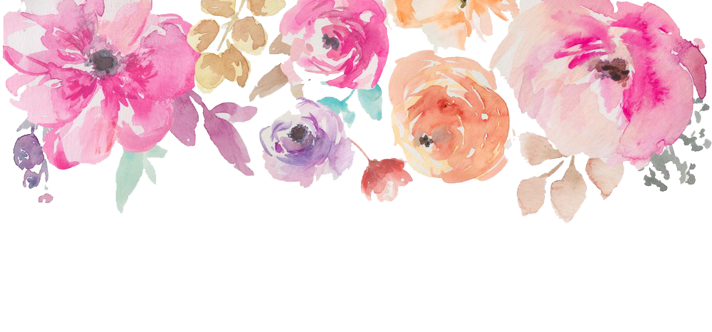 Watercolor flowers png. Image peoplepng com