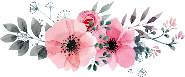 Image result for flowers. Watercolor flower png svg black and white stock
