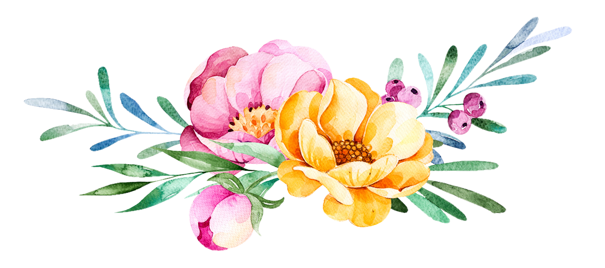 Flowers watercolor png. Flower d magazine comments