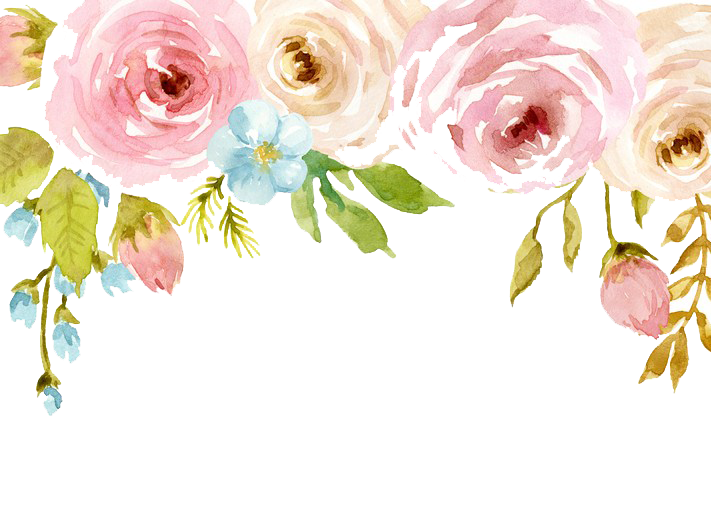 Watercolor flowers png. Free download peoplepng com