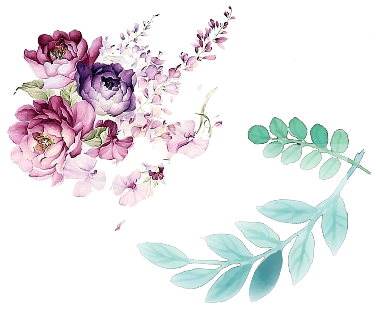 Flowers watercolor png. Floral design painting flower