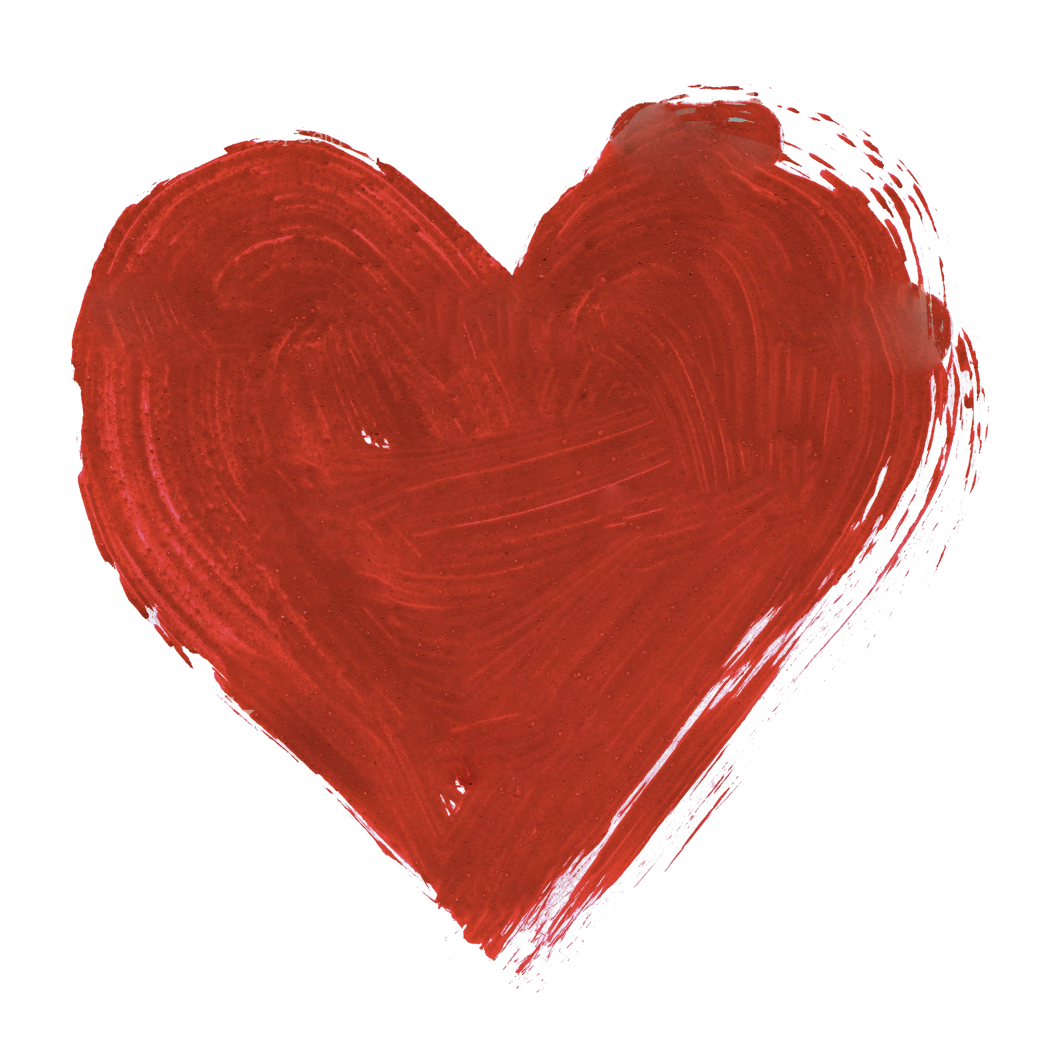Water color heart png. Red watercolor image peoplepng