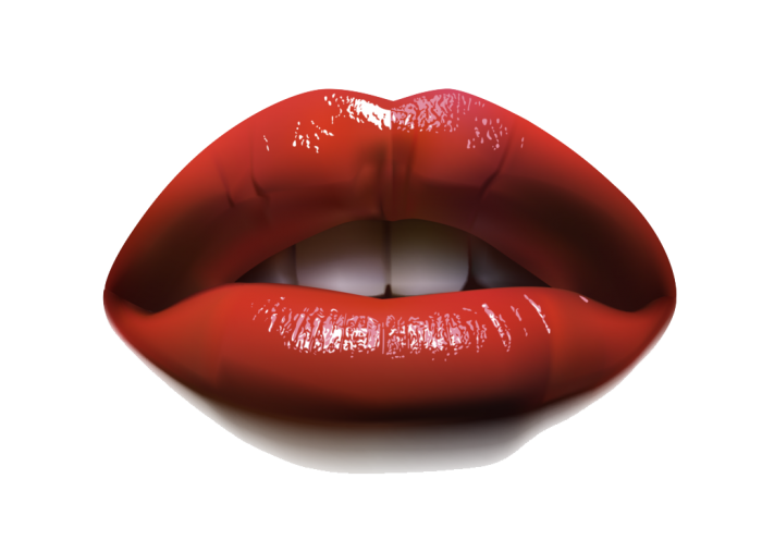 Water color lips png. Image vector clipart psd