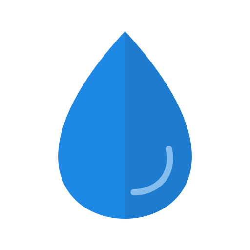 Water icon png. Rain drop weather free