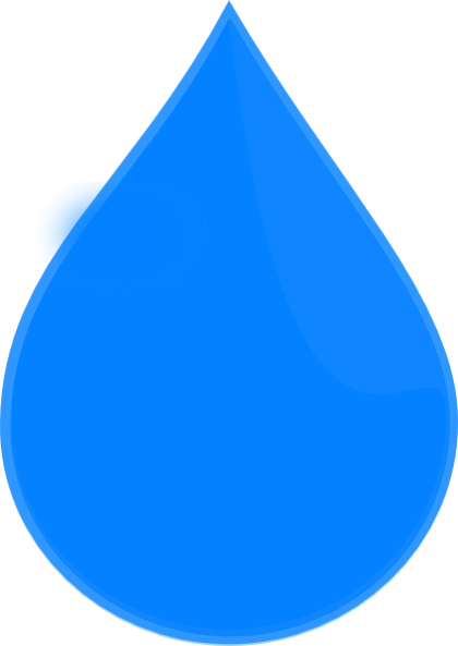 Blast vector water. Blue drop clip art