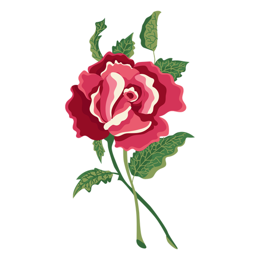 Water flower png. Blooming rose paint icon