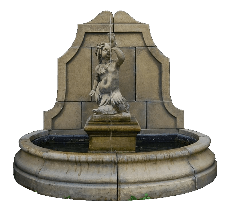Water fountain png. Transparent stickpng nature